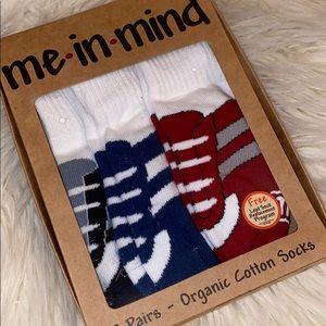 🔥 3/$15 🔥 Boys Jogger Socks - 3 pairs